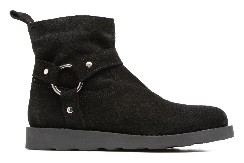 Bottines et boots Yep Patricia Noir vue derrière