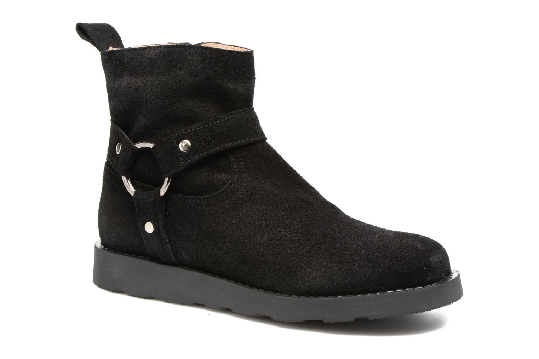 Boots en enkellaarsjes Yep Patricia Zwart detail