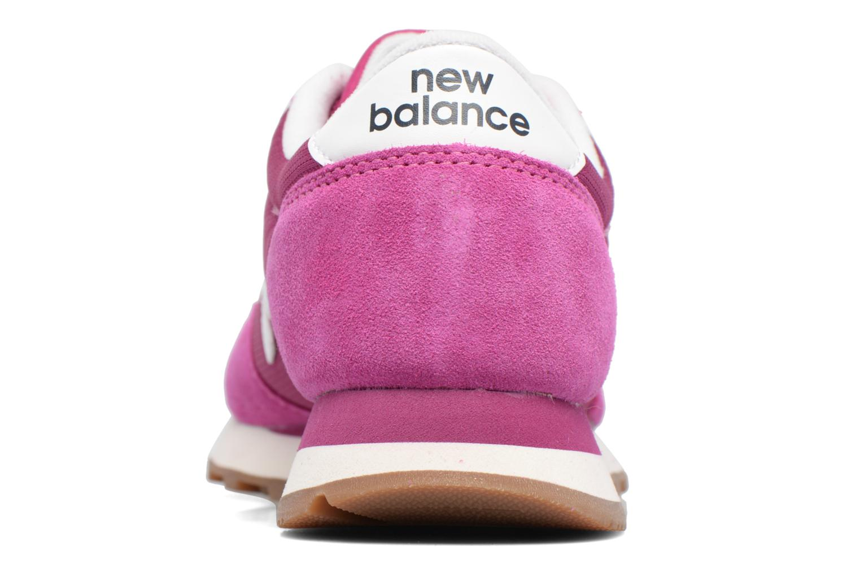 Baskets New Balance WL501 B Violet vue droite