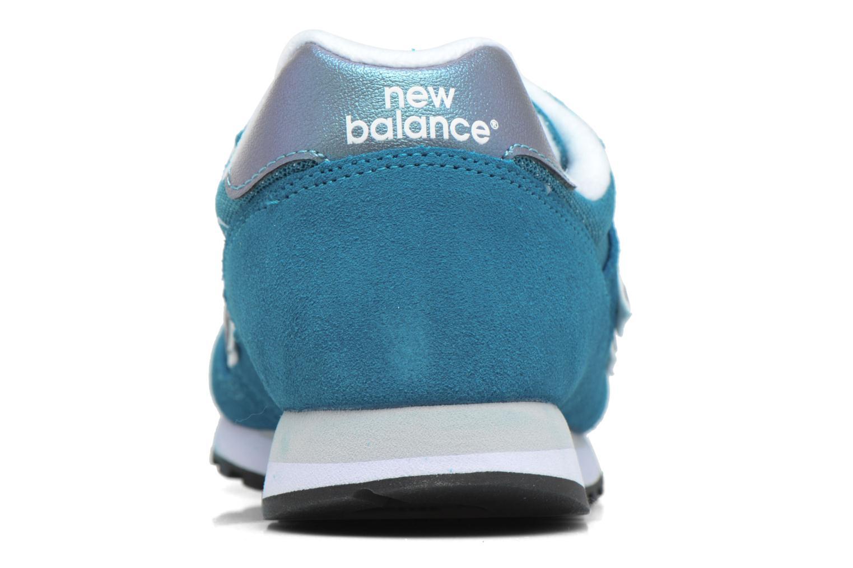 Baskets New Balance WL373 B Bleu vue droite