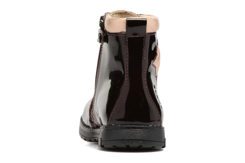 Bottines et boots Primigi Giada Violet vue droite