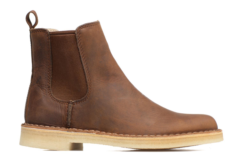 Boots en enkellaarsjes Clarks Originals DESERT PEAK W Bruin achterkant