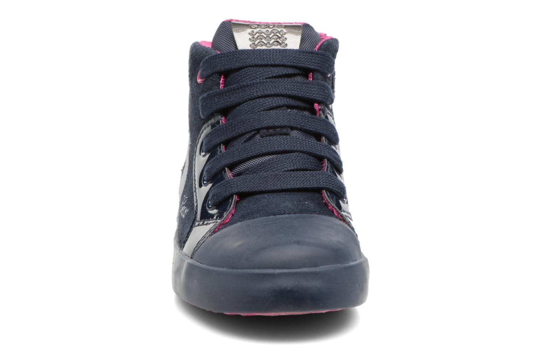 Baskets Geox B Kiwi G. C B74D5C Bleu vue portées chaussures