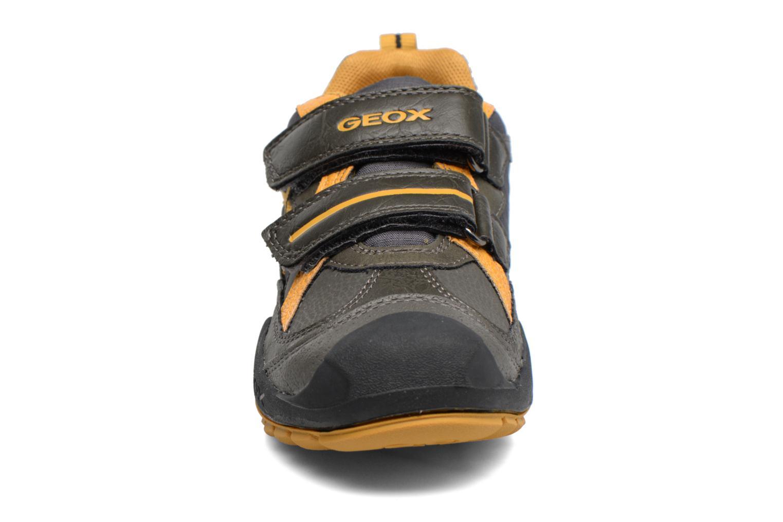 Baskets Geox J N.Savage B.A J741VA Noir vue portées chaussures