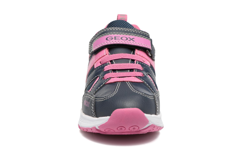 Baskets Geox J Top Fly G. A J7428A Bleu vue portées chaussures
