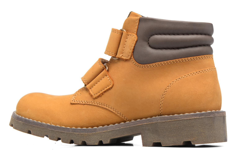 Boots en enkellaarsjes Geox J Axel B. Wpf C  J743DC Bruin voorkant