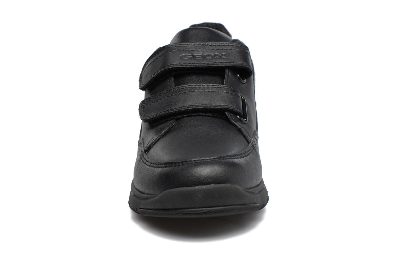 Baskets Geox J Xunday B. B  J743NB Noir vue portées chaussures