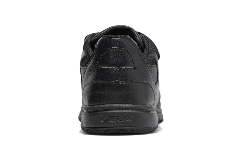 Sneakers Geox J Xunday B. B  J743NB Zwart rechts