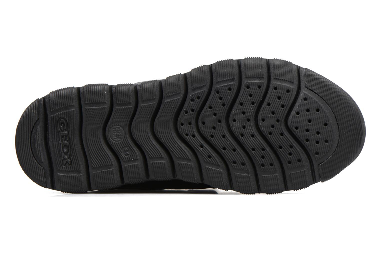Sneakers Geox J Xunday B. B  J743NB Zwart boven