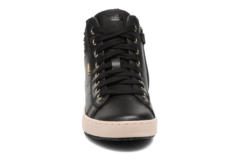 Baskets Geox J Kalispera G.E J744GE Noir vue portées chaussures