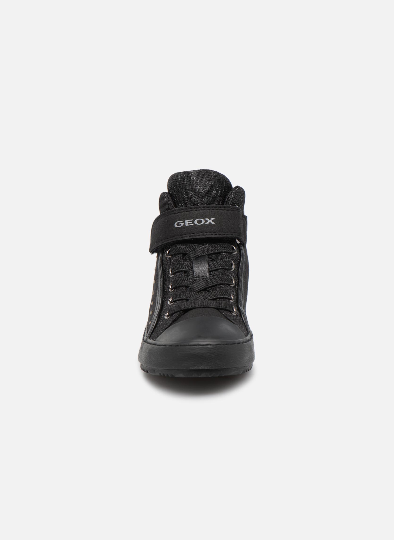 Baskets Geox J Kalispera G.I J744GI Noir vue portées chaussures
