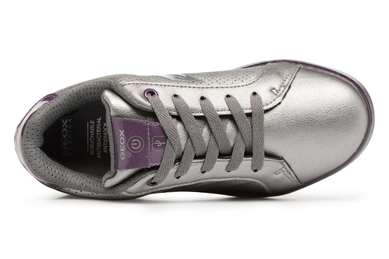 Sneakers Geox J Kommodor G.A J744HA Grijs links