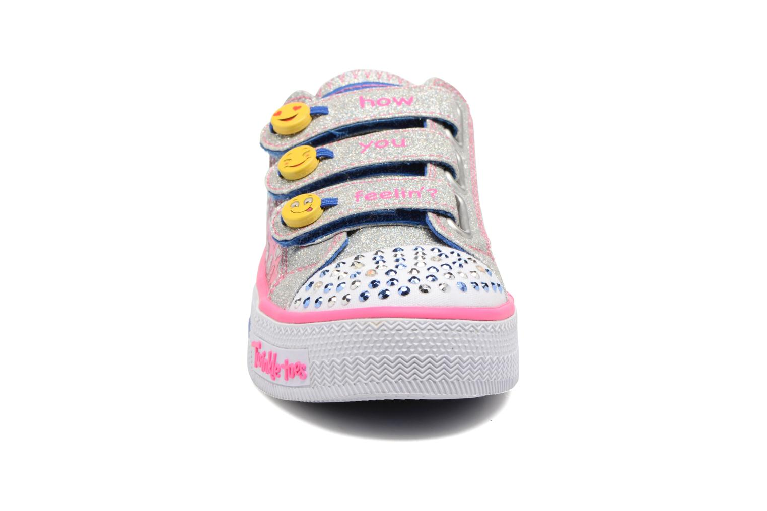 Baskets Skechers Step Up Expressionista Multicolore vue portées chaussures