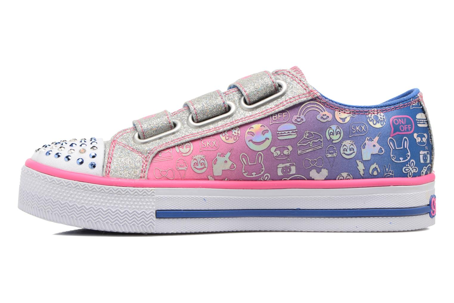 Baskets Skechers Step Up Expressionista Multicolore vue face