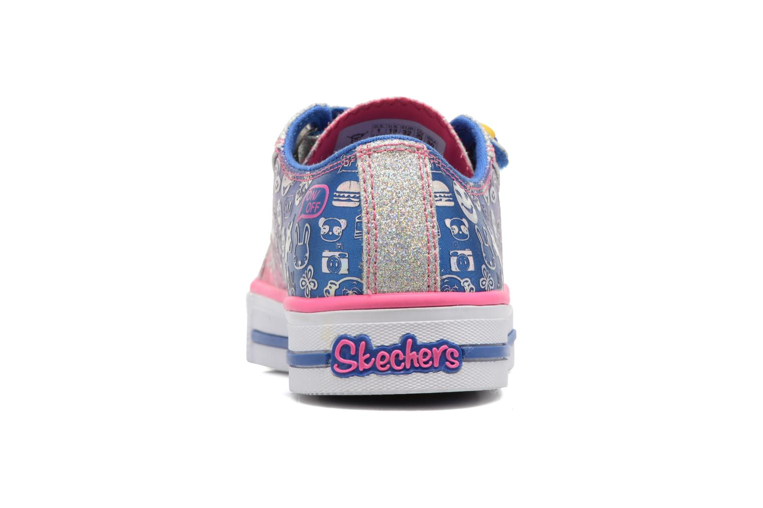 Baskets Skechers Step Up Expressionista Multicolore vue droite