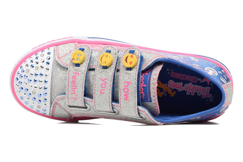 Baskets Skechers Step Up Expressionista Multicolore vue gauche