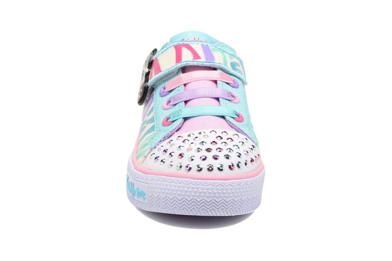 Baskets Skechers Shuffles Party Pets Multicolore vue portées chaussures