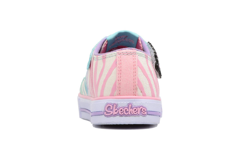 Baskets Skechers Shuffles Party Pets Multicolore vue droite