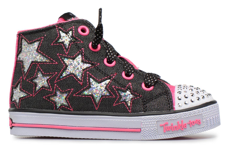 Sneakers Skechers Shuffles Lil Rockin Stars Nero immagine posteriore
