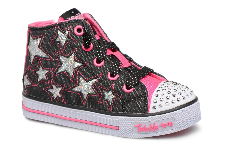 Sneakers Skechers Shuffles Lil Rockin Stars Nero vedi dettaglio/paio