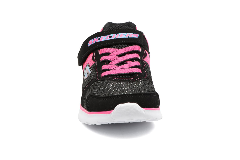 Chaussures de sport Skechers Go Run 400 Sparkle Sprinters Noir vue portées chaussures