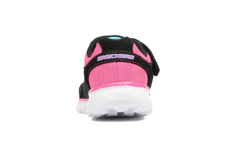 Chaussures de sport Skechers Go Run 400 Sparkle Sprinters Noir vue droite