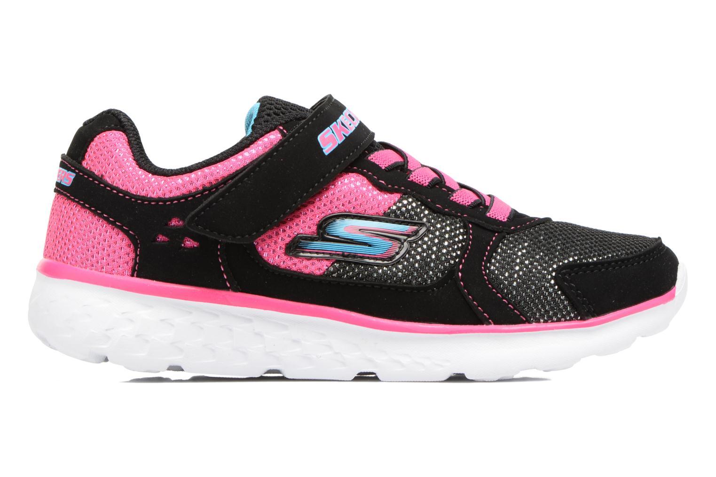 Chaussures de sport Skechers Go Run 400 Sparkle Sprinters Noir vue derrière