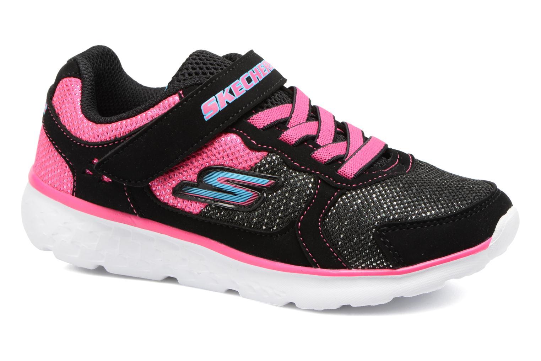 Chaussures de sport Skechers Go Run 400 Sparkle Sprinters Noir vue détail/paire