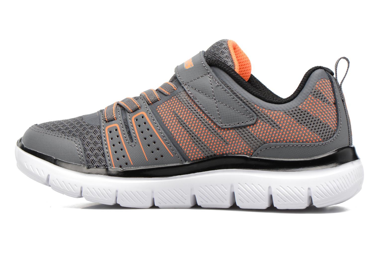 Chaussures de sport Skechers Flex Advantage 2.0 High Torqu Gris vue face