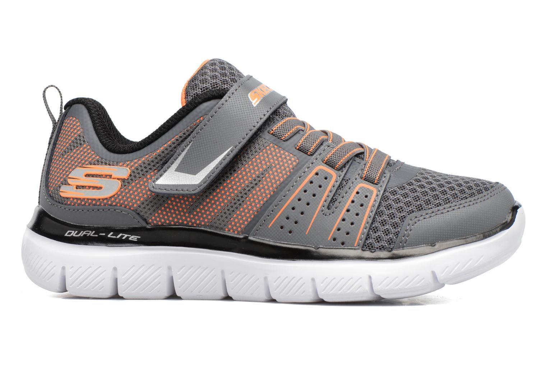 Chaussures de sport Skechers Flex Advantage 2.0 High Torqu Gris vue derrière