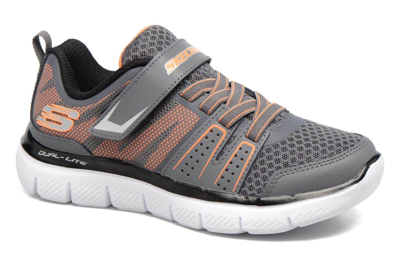 Chaussures de sport Skechers Flex Advantage 2.0 High Torqu Gris vue détail/paire