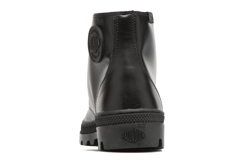 Bottines et boots Palladium Pallabosse Mid Noir vue droite