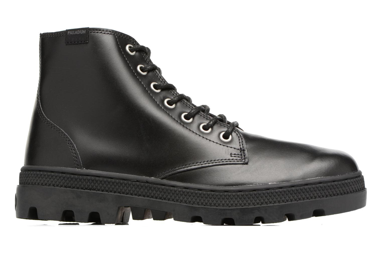 Bottines et boots Palladium Pallabosse Mid Noir vue derrière