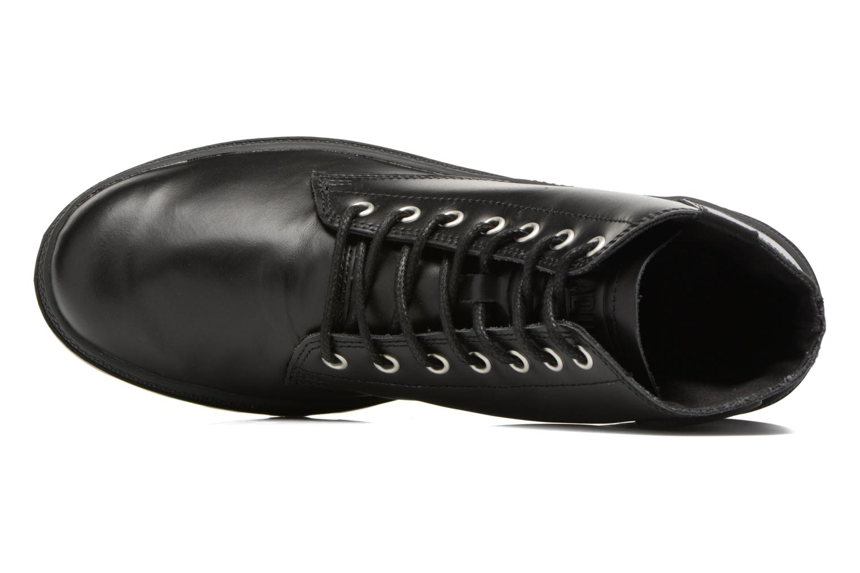 Boots en enkellaarsjes Palladium Pallabosse Mid Zwart links