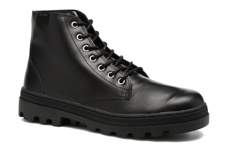 Bottines et boots Palladium Pallabosse Mid Noir vue détail/paire