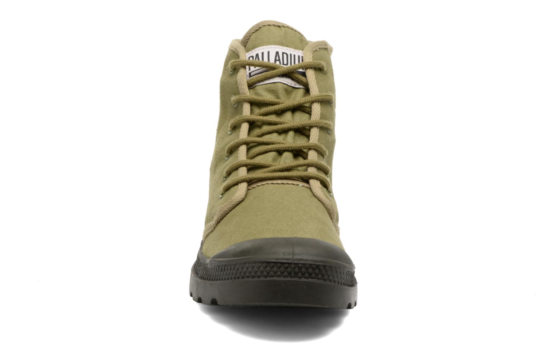 Baskets Palladium Pampa Hi Originale TC Vert vue portées chaussures