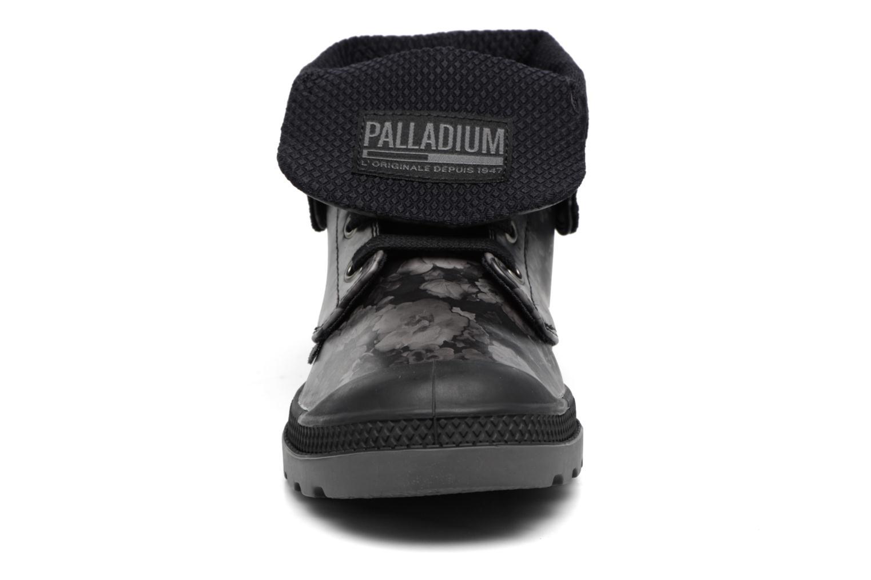 Bottines et boots Palladium Baggy Low Lp Flower Noir vue portées chaussures