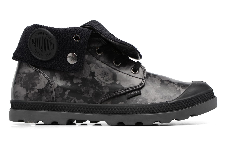 Bottines et boots Palladium Baggy Low Lp Flower Noir vue derrière