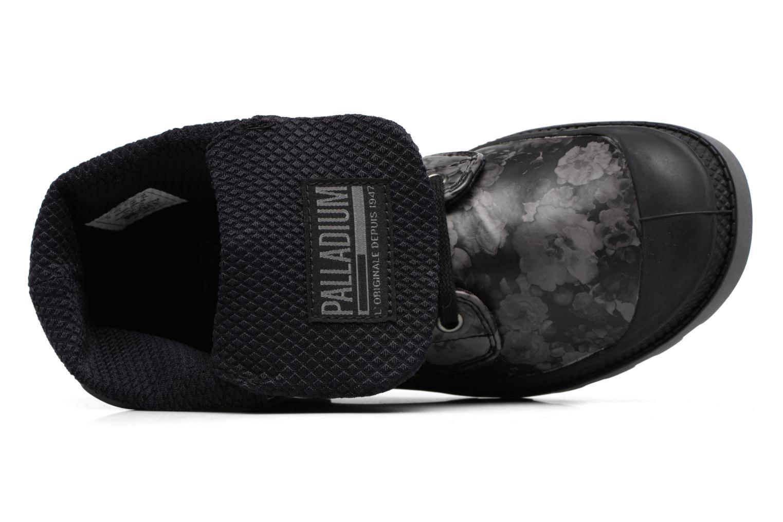 Bottines et boots Palladium Baggy Low Lp Flower Noir vue gauche
