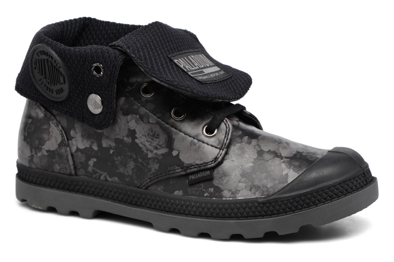 Bottines et boots Palladium Baggy Low Lp Flower Noir vue détail/paire