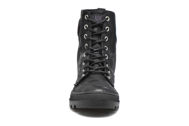 Bottines et boots Palladium Pallabosse OFF CVS Noir vue portées chaussures