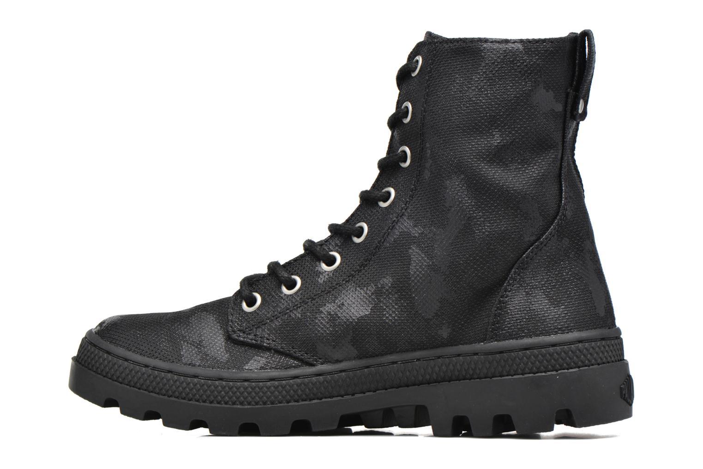 Bottines et boots Palladium Pallabosse OFF CVS Noir vue face