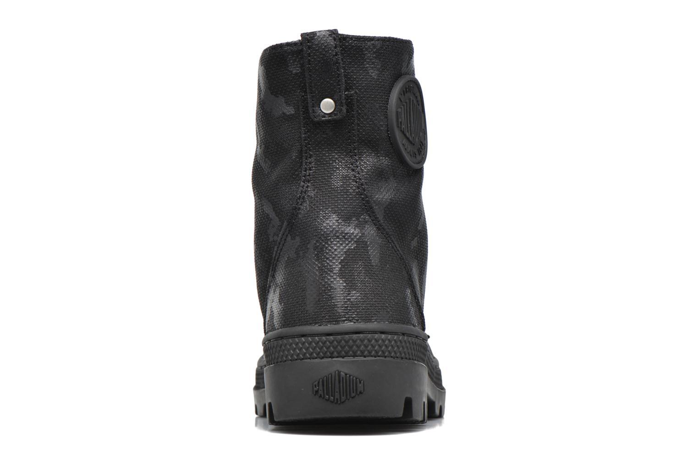 Bottines et boots Palladium Pallabosse OFF CVS Noir vue droite