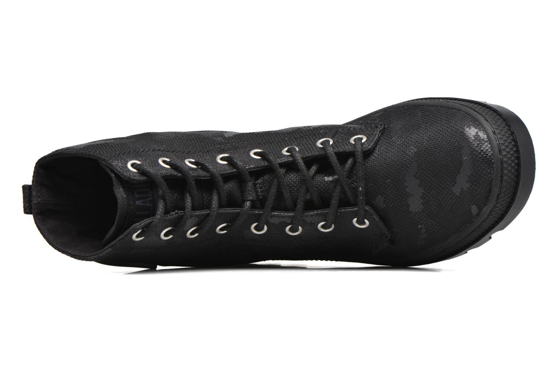 Bottines et boots Palladium Pallabosse OFF CVS Noir vue gauche