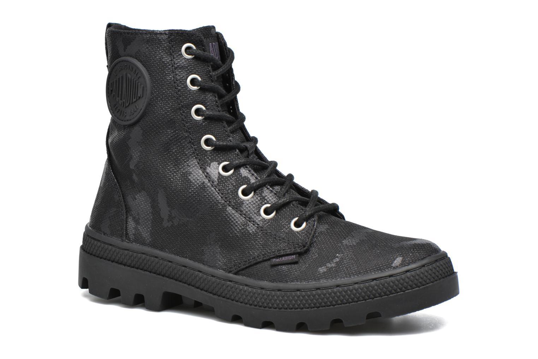 Bottines et boots Palladium Pallabosse OFF CVS Noir vue détail/paire