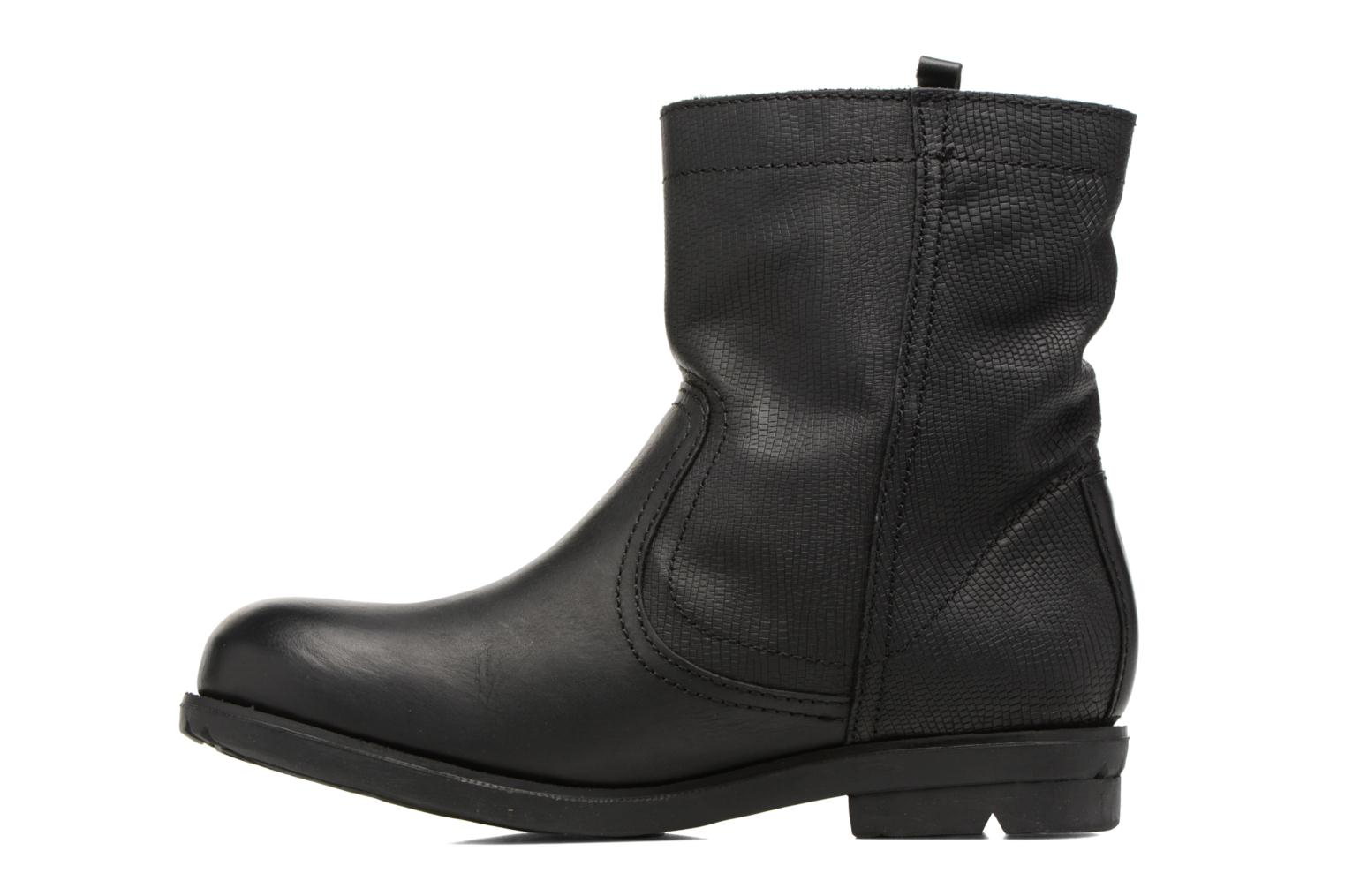 Bottines et boots P-L-D-M By Palladium Didger Trn Noir vue face