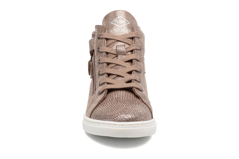 Baskets P-L-D-M By Palladium Pitoune K Or et bronze vue portées chaussures