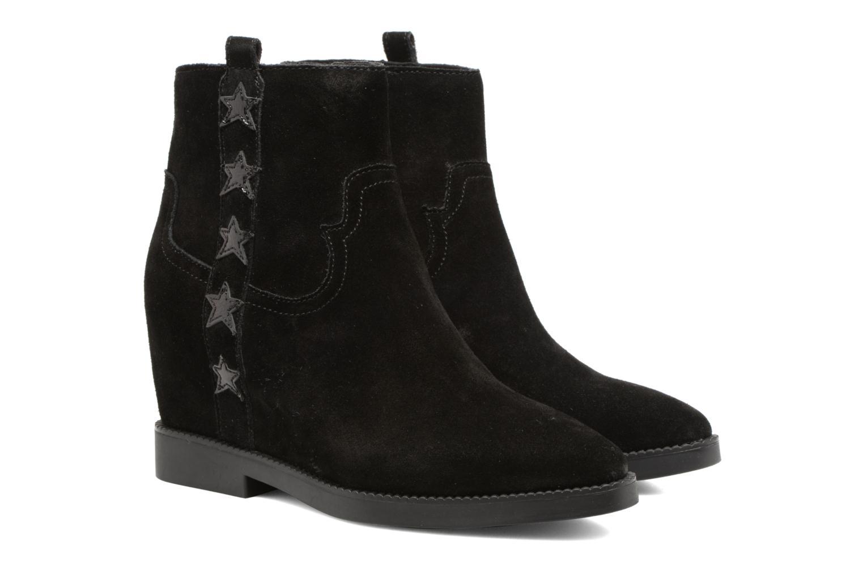 Bottines et boots Ash Goldie Noir vue 3/4