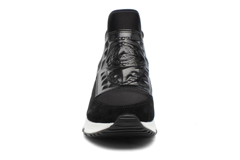 Baskets Ash Laser Goth Noir vue portées chaussures