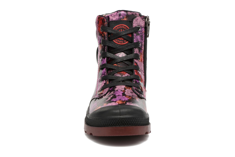 Bottines et boots Palladium Wendy Flo K Rose vue portées chaussures